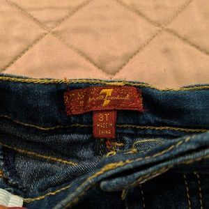 NWT toddler girl 7 for all Mankind Jeans